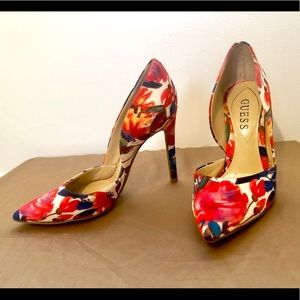 Make an offer! Guess Heels Floral Print